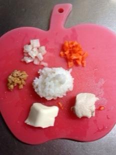 犬の手作りご飯材料